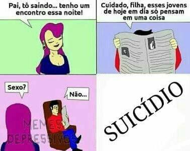 Suicídio S2 - meme