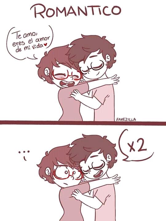 Romántico - meme