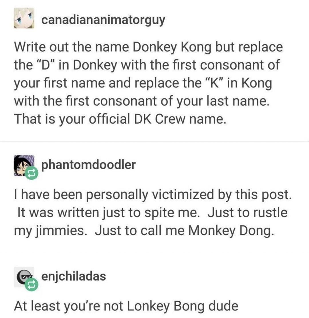 Ronkey Dong - meme
