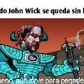John mato el título
