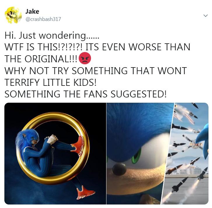 Sonic Remake - meme