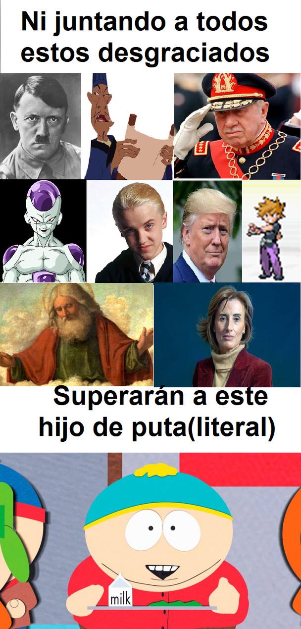 la última es Cubilos, los chilenos saben lo que ha hecho - meme