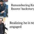 Keanu Reeves is now engaged!