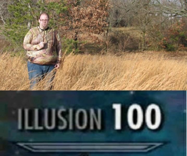 i am thé illusion man - meme