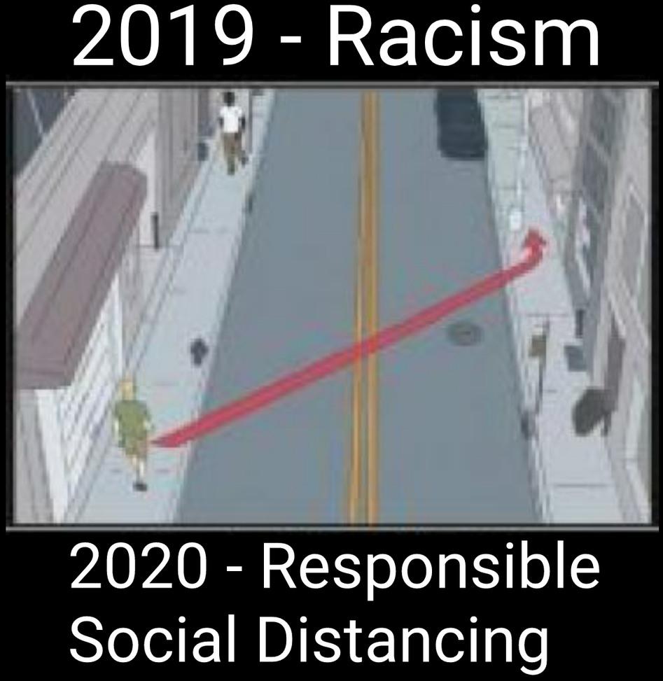 #socialdistancing - meme