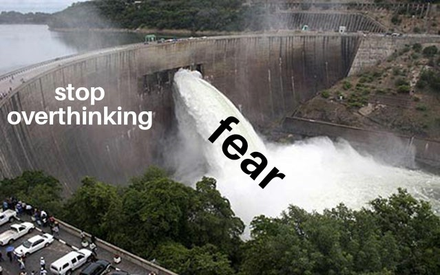 Fear is a mind killer - meme