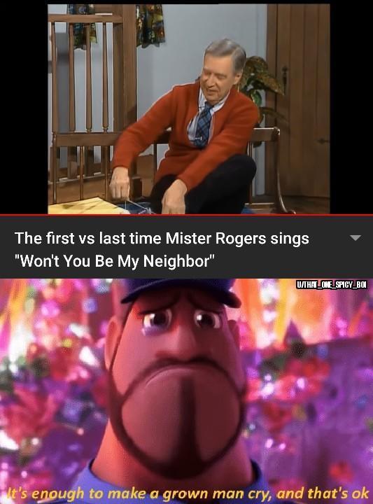 He's an inspiration - meme