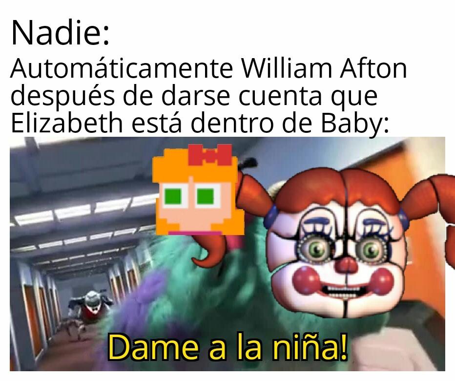 Pobre William, pero me vale madres xd - meme
