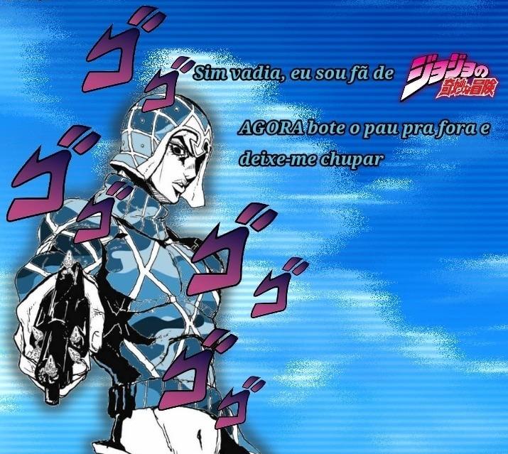 Porque vocês odeiam os Jojofags, anime mó bom - meme