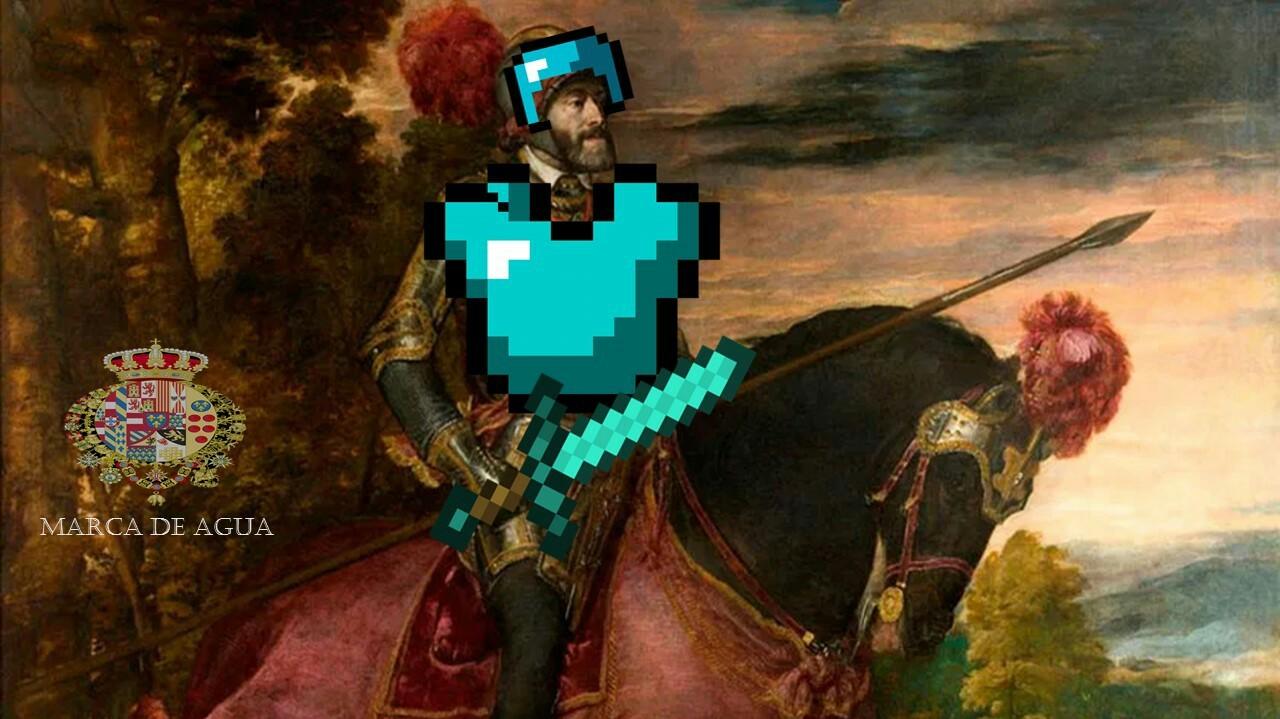 Carlos I y V de Alemania - meme