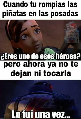Buenos tiempos - meme