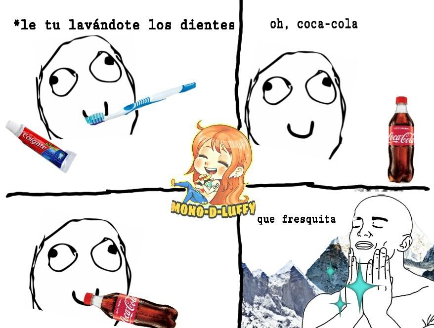 Ahora el tipico que dice que puede tomar Cocacola con tapita - meme