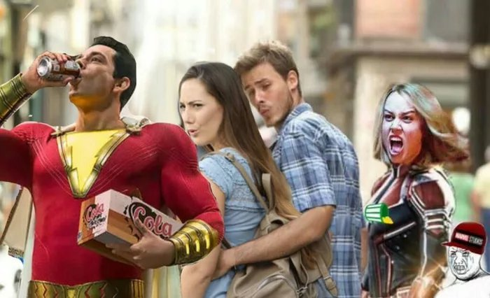 Capitão Marvel - meme