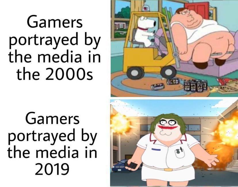 Gamers rise up - meme