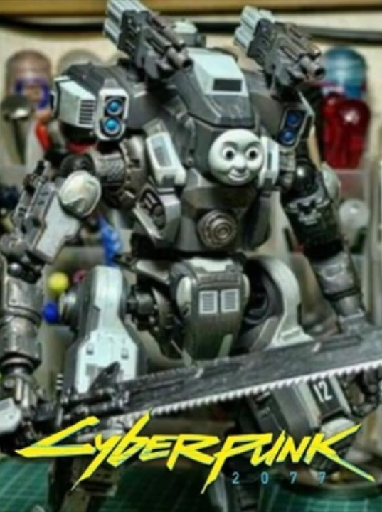 CyberThomas 2077 - meme