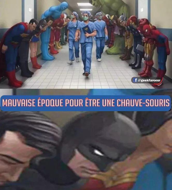 Adieu Corona - meme