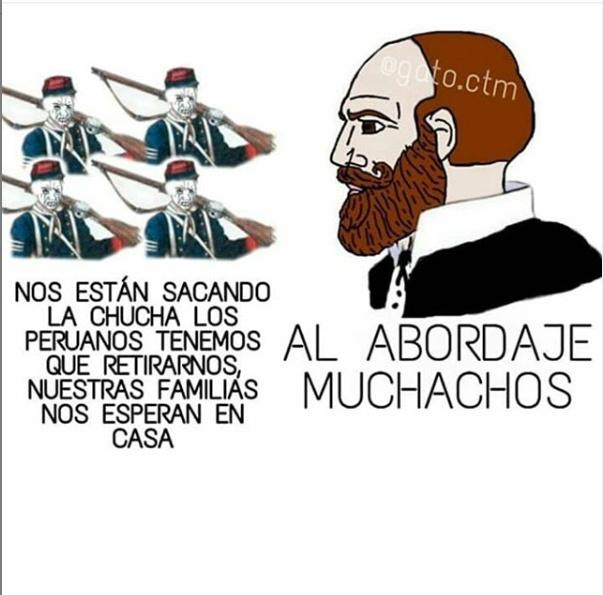 Meme por el 21 de mayo