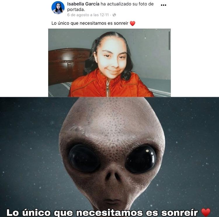 Parece un alien xD - meme