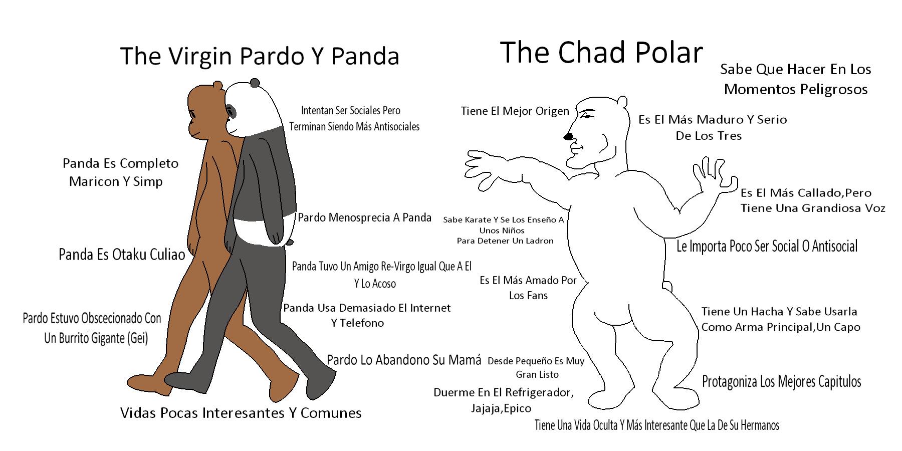 No Recuerdo Mucho Más Con Pardo Y Panda,Ya Que No He Visto La Serie En Un Largo Tiempo - meme