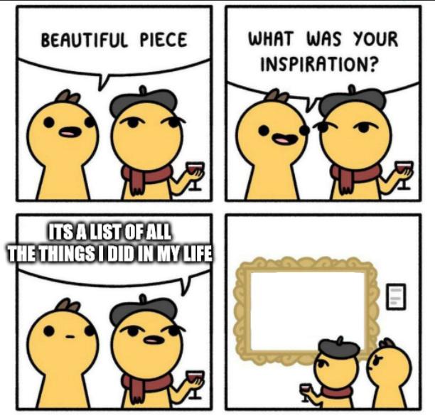 A very dynamic life - meme