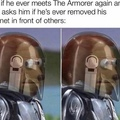 didn't the armorer die?
