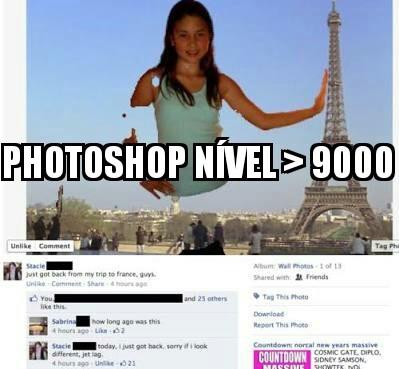 A rainha do Photoshop - meme