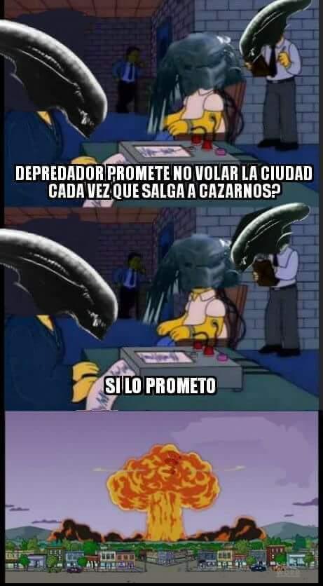 Depredador - meme