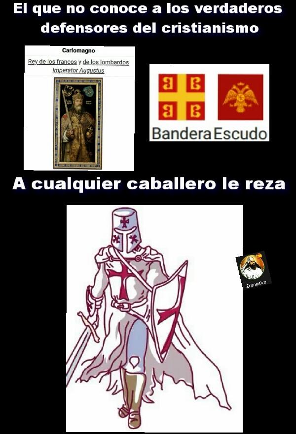 Carlomagno y bizancio - meme