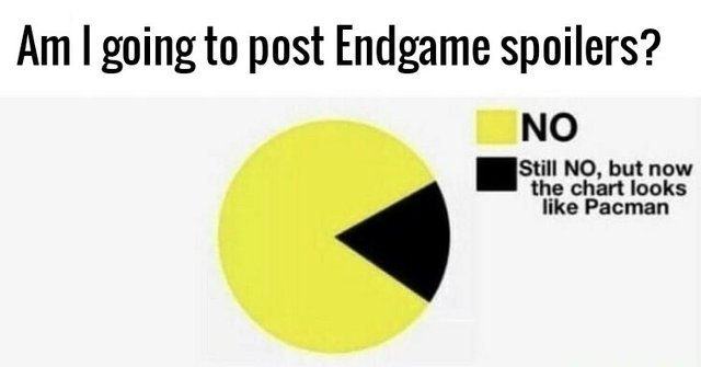 Am I going to post Endgame spoilers? - meme
