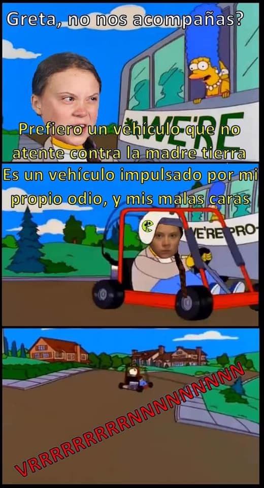 Greta Thunberg - meme