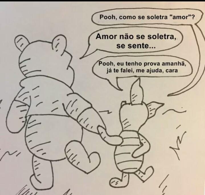 Porra pooh - meme