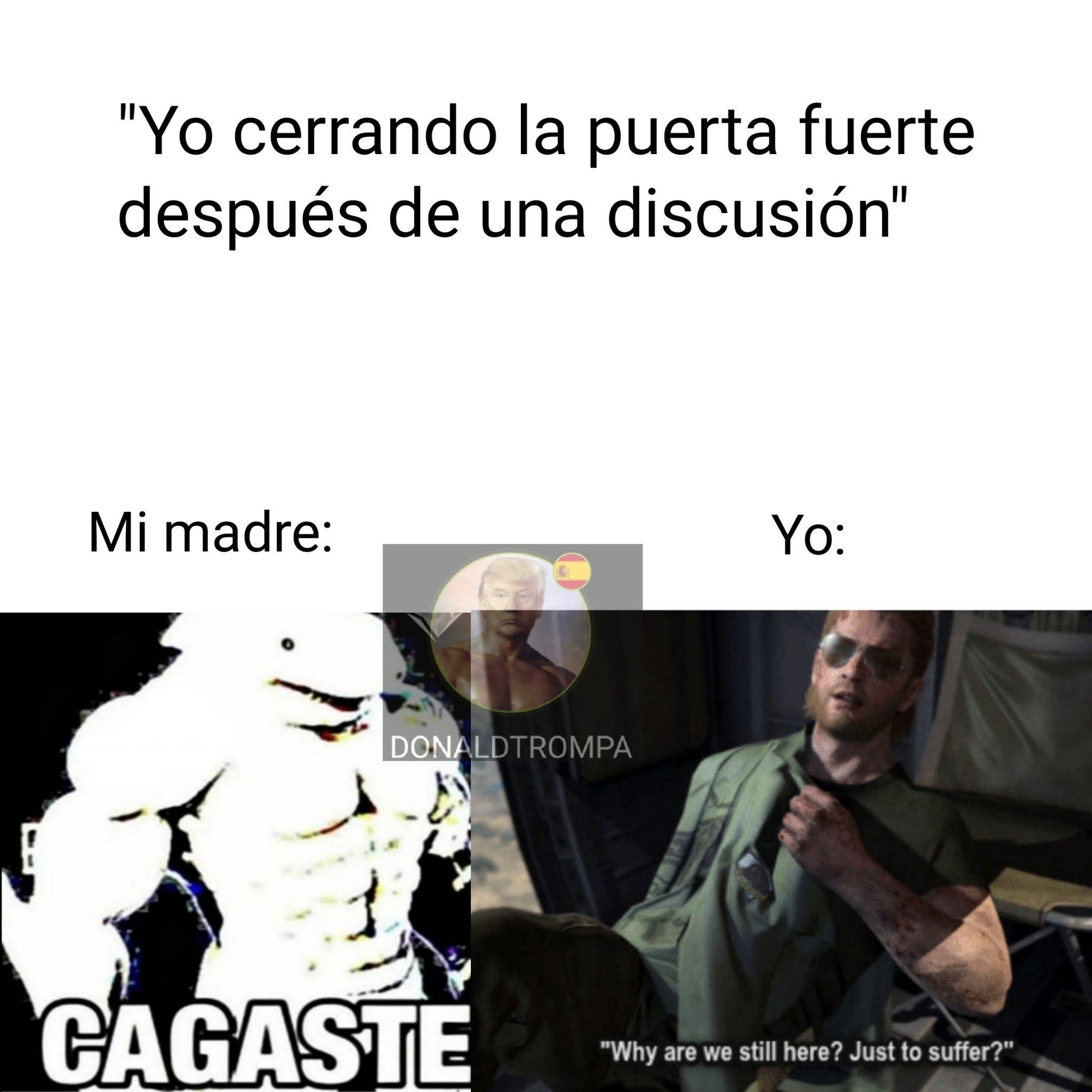 El meme la cago