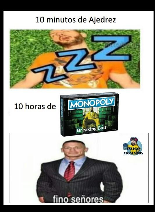Fino el Monopoly - meme