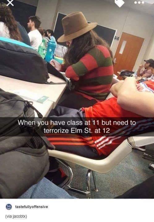 College be like - meme