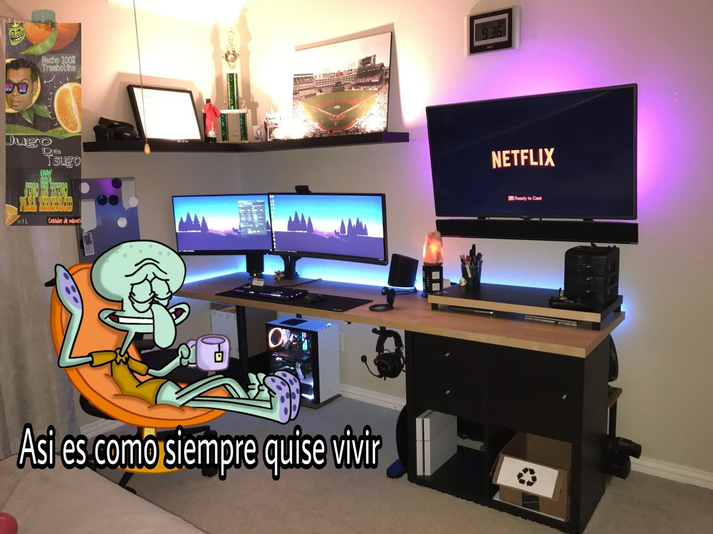 Yo tambien :^( - meme
