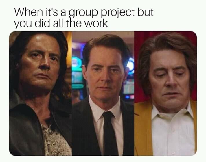 Mr. C, FBI Special Agent Dale Cooper & Dougie Jones: Twin Peaks The Return (2017) - meme