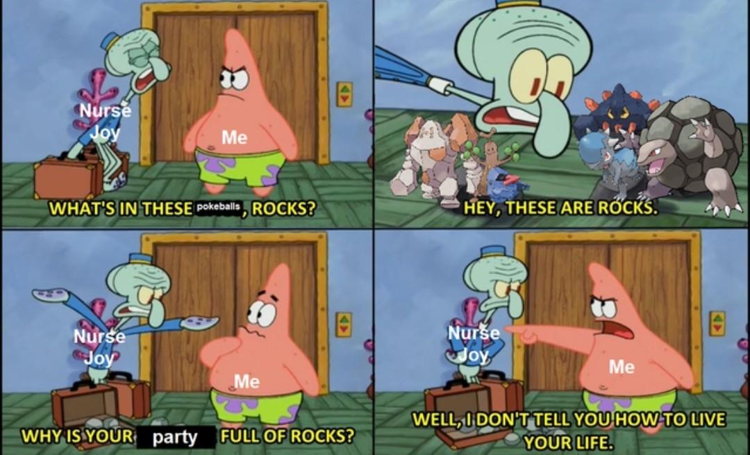 Favorite rock type? - meme