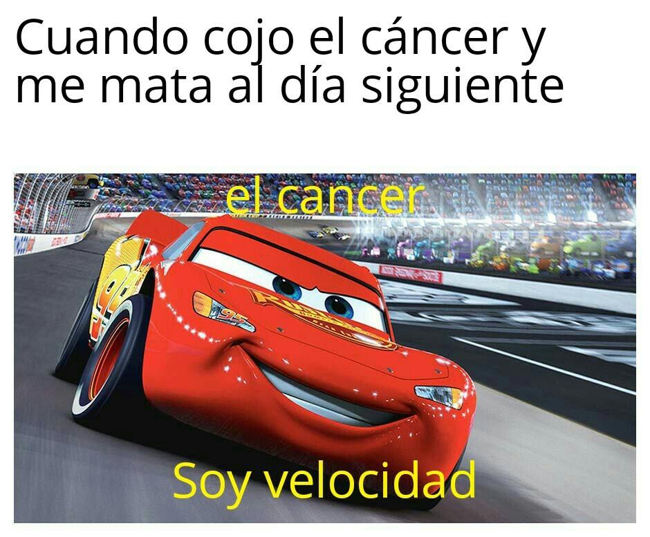 Jajajajaja tengo cancer - meme