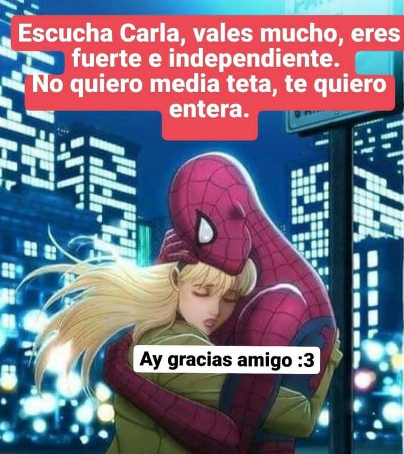 Noo spiderman es aliado se me cayo un idolo - meme