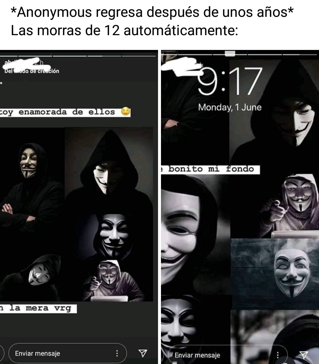 Memes anonymus