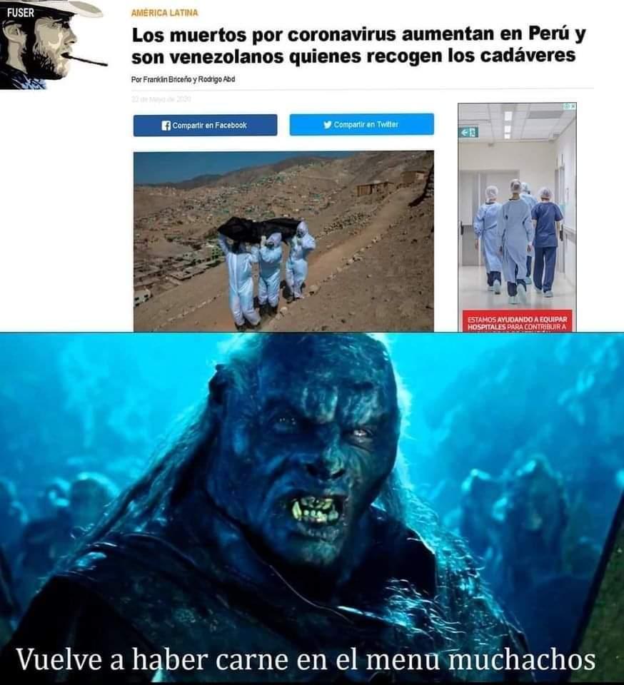 Pobre Venezuela - meme