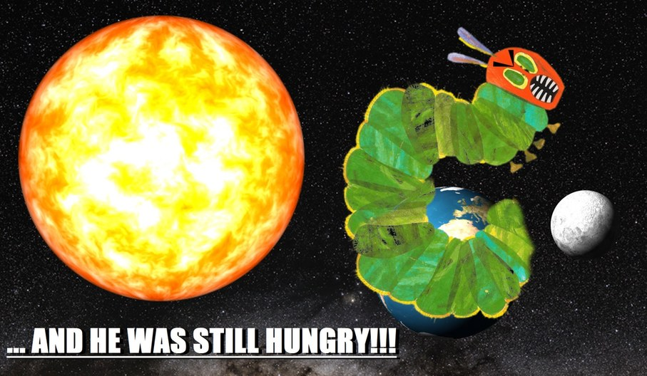 Rest In Peace Eric Carle (Creator of the Very Hungry Catterpillar) - meme