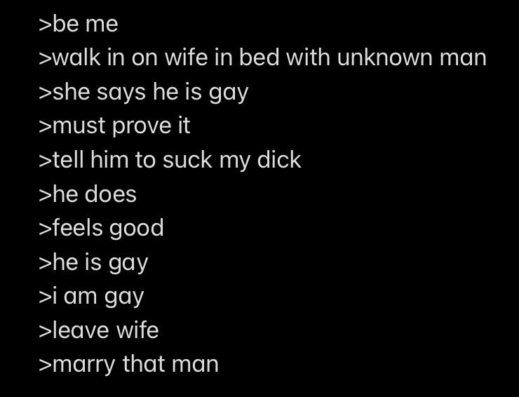 Insert homosexuality - meme