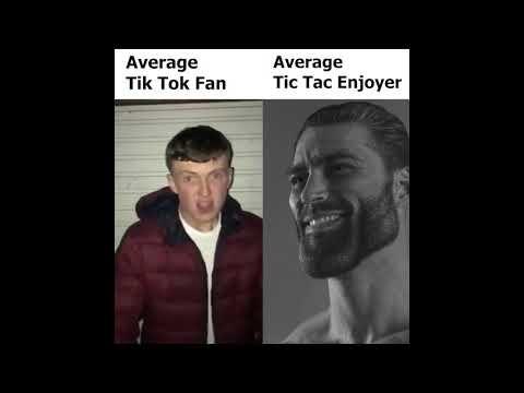 Tik tok trash<tic tac cool - meme