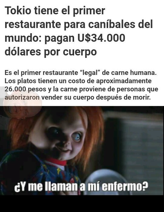 Noticia real. - meme