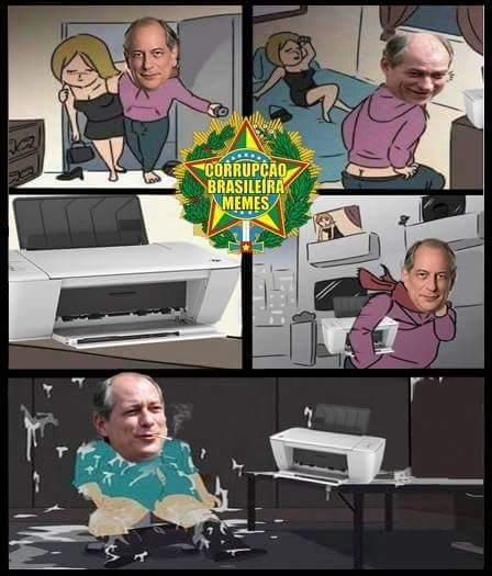 Impressora > mulher - meme