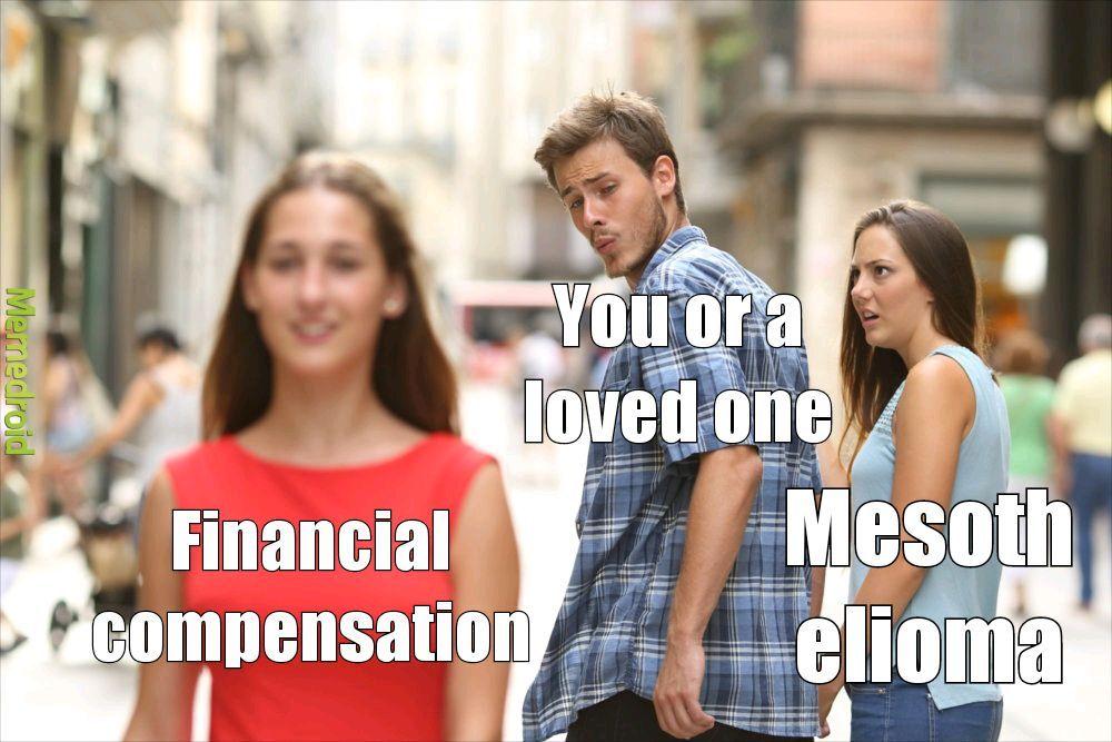 Financial compensation - meme
