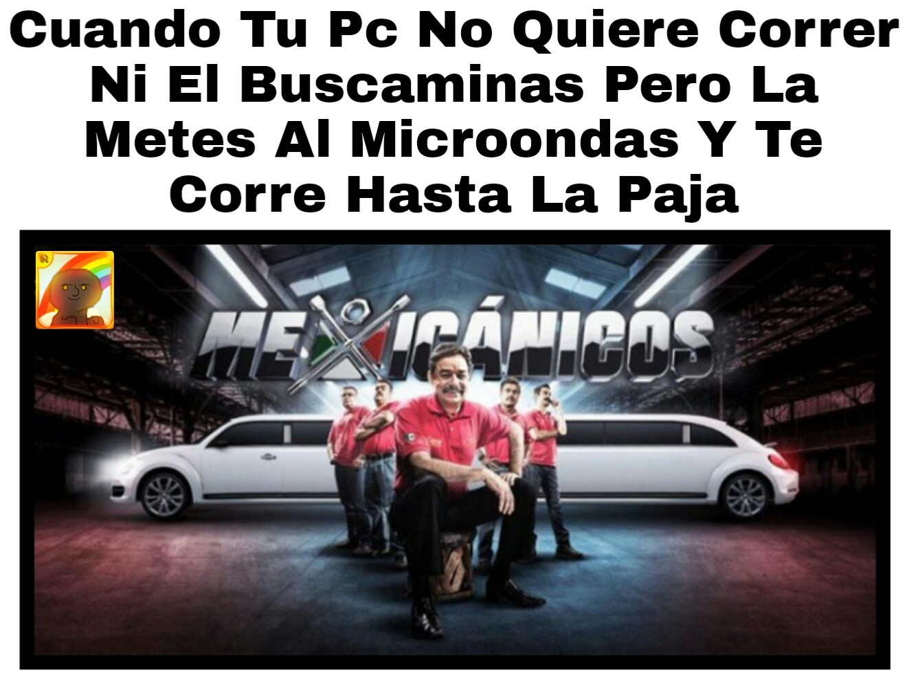Microondas - meme