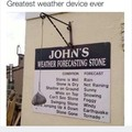 The best weather device, ever...
