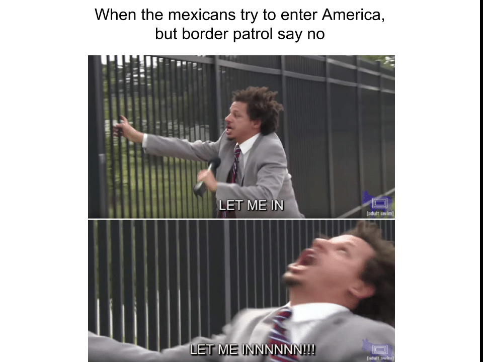 Mexican Crossing - meme